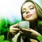 зелений чай, травяний чай, імбирний чай для схуднення