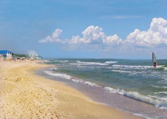 Кирилівка, Азовське море