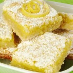 Лимонне печиво з ваніллю