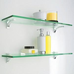 Різновиди полиць для ванної кімнати