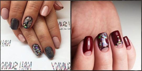 дизайн нігтів «скло» власними руками